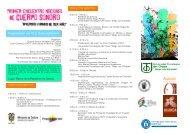 Programación del 10 al 15 de septiembre - Ministerio de Cultura