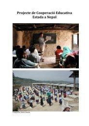 Projecte de Cooperació Educativa Estada a Nepal - Universitat de Vic