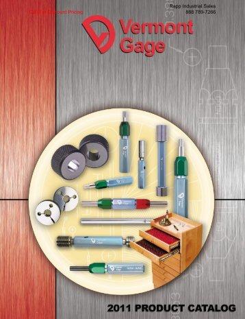 Standard Thread Gages - Rapp Industrial Sales