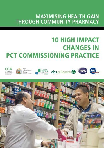 10 high impact changes in pct commissioning practice - National ...