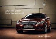 Am 27. März geht über Luzern ein neuer Stern auf. - Mercedes-Benz ...