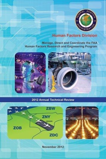 Human Factors Division - FAA Human Factors