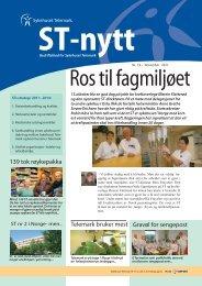 ST-Nytt nr. 19; 2011 - Sykehuset Telemark