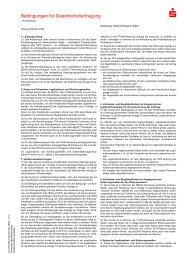 Bedingungen für die Datenfernübertragung - Sparkasse Hilden ...
