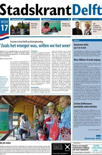 29 april - Delft.nl