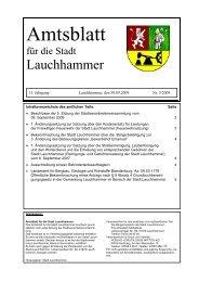 am 29. Oktober 2009 - Stadt Lauchhammer