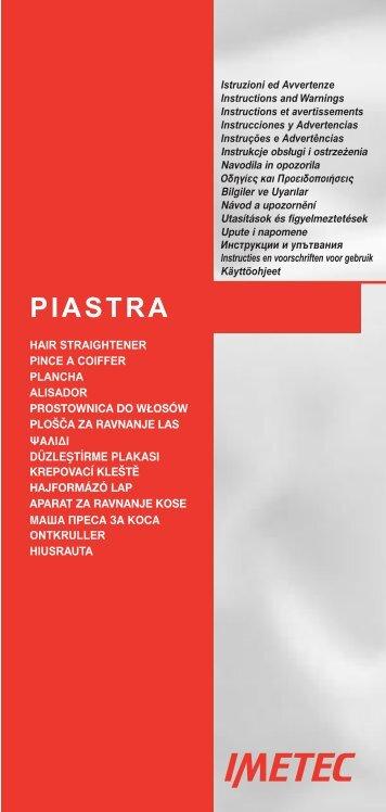 PIASTRA - Digiprofi