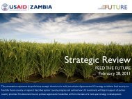 Zambia Feed The Future Strategic Review