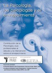 Psicólogos y envejecimiento - Consejo General de Colegios ...