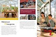 Wohntraum Wintergarten
