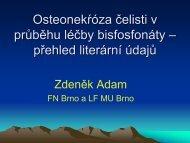 Osteonekróza (Z. Adam)