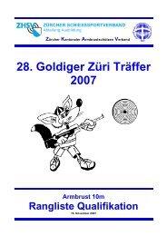 28. Goldiger Züri Träffer 2007 - ZKAV