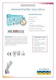 Diamond Grip PlusTM Latex Gloves