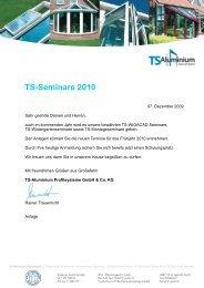Anmeldung an: Softwareteam Nord Fax - TS-Aluminium ...