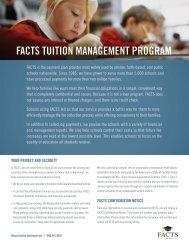 FACTS brochure - Banner School