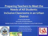 Cooperating Teacher - Center for Urban Education