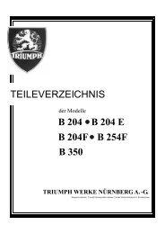 Ersatzteilliste B 204 - TWN Zweirad IG