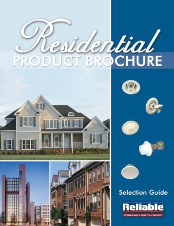 Residential Products - Reliable Automatic Sprinkler Co.
