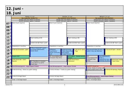 calendar weekly 1_2.pdf - Home @ BÜRGERFORUM LAUCHHAU-LAUCHÄCKER