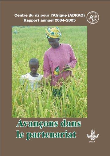 Annexes - Africa Rice Center