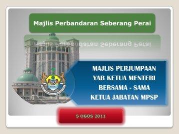 majlis perjumpaan yab ketua menteri bersama ... - Pantas | MPSP