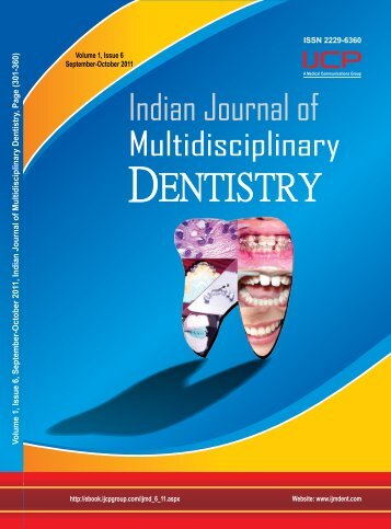Volume 1 - Issue-6 (Sep-Oct) Download Pdf - IJMD
