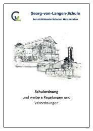 Schulordnung als PDF - BBS-Holzminden