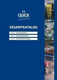 Schalungszubehör Kapitel 1 - Quick Bauprodukte GmbH