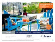 Santa Barbara - Hayes Commercial Group