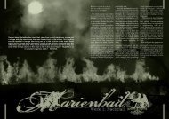 German band Marienbad has taken their name from a ... - Hallowed.se