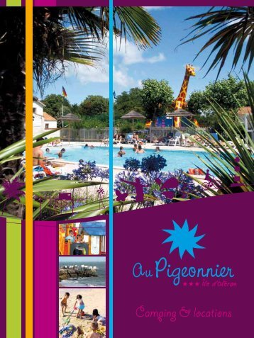 Camping & locations - Camping au Pigeonnier