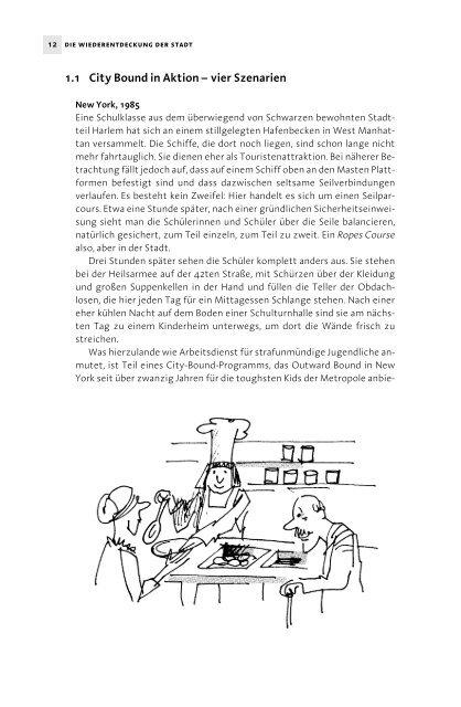 1.1 City Bound in Aktion – vier Szenarien - Ernst Reinhardt Verlag