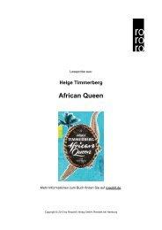 African Queen - Rowohlt Theaterverlag