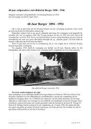 Borger - Zuivelhistorie Nederland