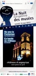Nuit des musées 2012 - Projets éducatifs au Chateau d'Espeyran