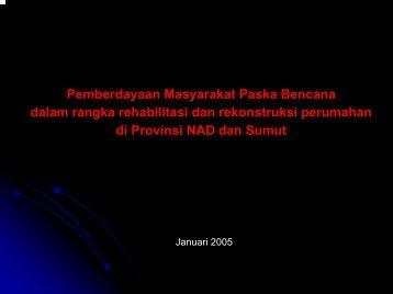 KEGIATAN DI MASYARAKAT - P2KP
