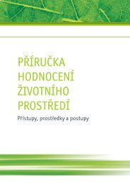 příručka hodnocení životního prostředí - CENIA, česká informační ...