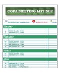 C COP PA M MEE ETING G LI IST 2 2011 1 - IFA Home Page - Page 3