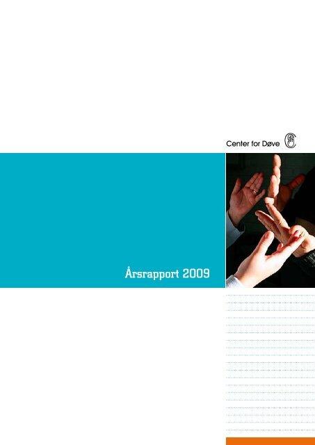 Download Center for Døves årsberetning 2009 som pdf