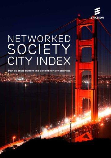 Network Society City Index reports. - Ericsson