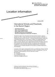 International Schools - Referat für Arbeit und Wirtschaft