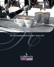 GASTRO FOLDER - Erfahren Sie hier mehr über unsere ... - Cafe+Co