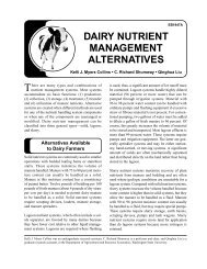 Dairy Nutrient Management Alternatives - WSU Whatcom County ...