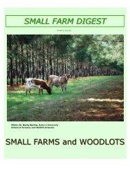 Small Farm Digest Spring 2011 – Woodlot Management