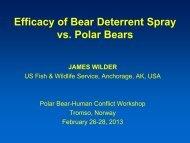 Bear Spray - WWF