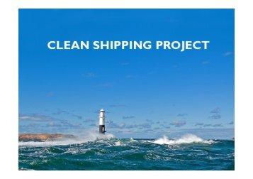 Sara Sköld, The Clean Shipping Project - KIMO