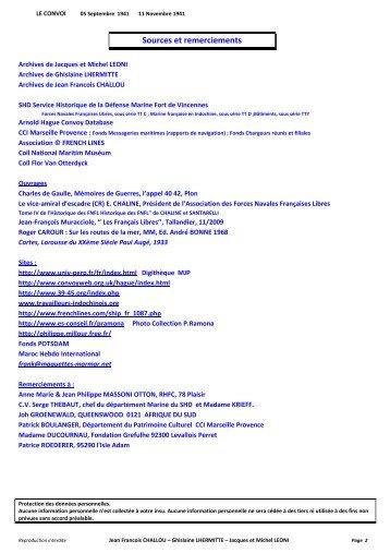 01 LE CONVOI page 02 13 Intro plan 1 Les Marins