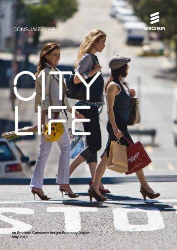 Consumerlab CITy Life - Ericsson
