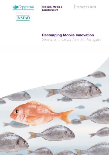 Strategies to Create New Market Space - Capgemini Portugal
