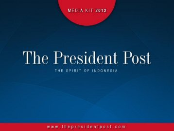 Business Section - The President Post